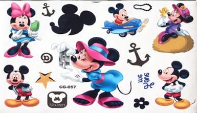 Tatuaż Zmywalny Dla Dzieci Mini Myszka Miki Disney