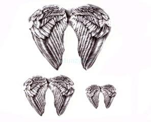 Tatuaż Zmywalny Skrzydła Anioł Doda Angel Wings Wwwtatuazyk