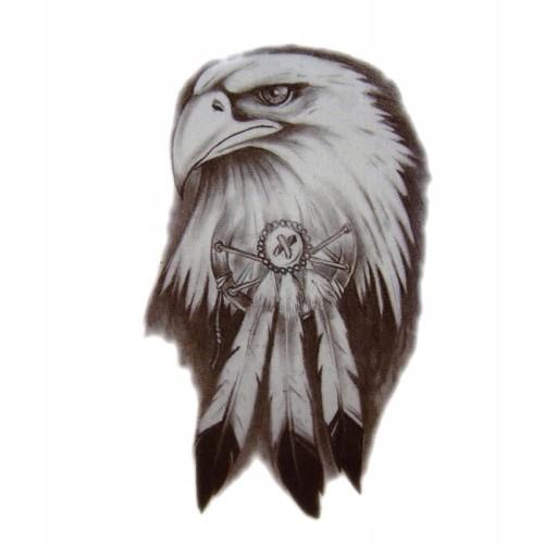 Tatuaż Tymczasowy Orzeł Polska Bóg Honor Ojczyzna